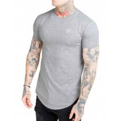 Camiseta SIKSILK Core Gym Grey Marl