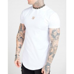 Camiseta SIKSILK Core Gym White