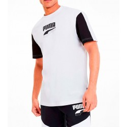 Camiseta PUMA Rebel Block White