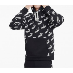 Sudadera PUMA Amplified Hoody Blk