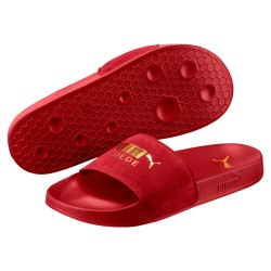 Chanclas PUMA LEADCAT Suede Red