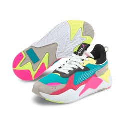 Zapatillas PUMA RS-X Reinvent Women White/Green