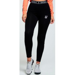 Leggings SIKSILKCore Tape Black/White