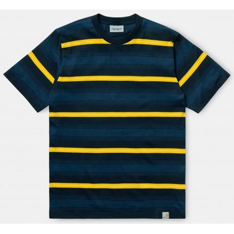 Camiseta CARHARTT Wip Buren Dark Navy