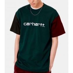 Camiseta CARHARTT Wip Tricol Dark Teal