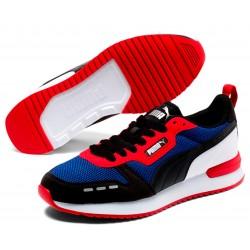 Zapatillas PUMA R78 Black/Blue/Red