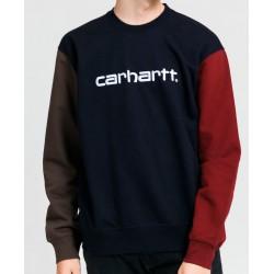 Sudadera CARHARTT Wip Tricol Dark Navy