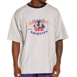 Camiseta GRIMEY Ubiquity Heavy weight FW20 Sport Grey