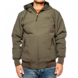 Cazadora CARHARTT Hooded Sail Jacket Cypress/Black
