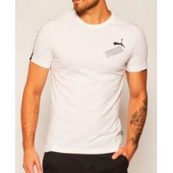 Camiseta PUMA Amplified Tee White