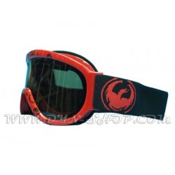 Gafas DRAGON D1XT Red Icon Logo Jet