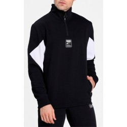 Sudadera PUMA Rebel Half-Zip Black
