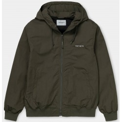 Chaqueta CARHARTT Marsh Jacket Cypress/White