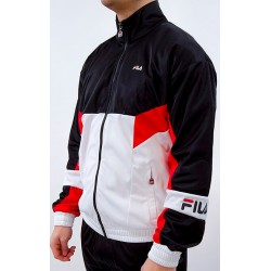 Chaqueta FILA Men Talen Track Jacket Red/Black/White