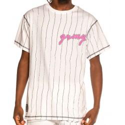Camiseta GRIMEY Strange Fruit All Over Print White