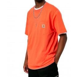 Camiseta CARHARTT Pocket T-Shirt Shrimp