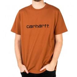 Camiseta CARHARTT Wip Script Rum/Black