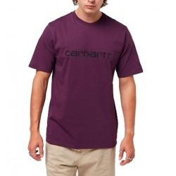 Camiseta CARHARTT Wip Script Aster/Wht