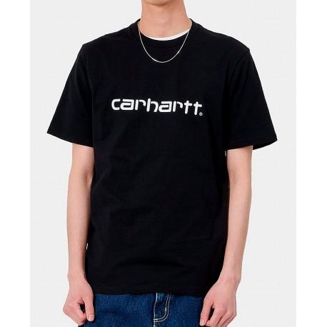 Camiseta CARHARTT Script Black/wht