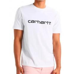 Camiseta CARHARTT Script Blanca