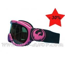 Gafas DRAGON D1XT Pink Icon Logo Jet