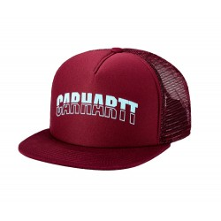 Gorra CARHARTT College Trucker Cap burgundy