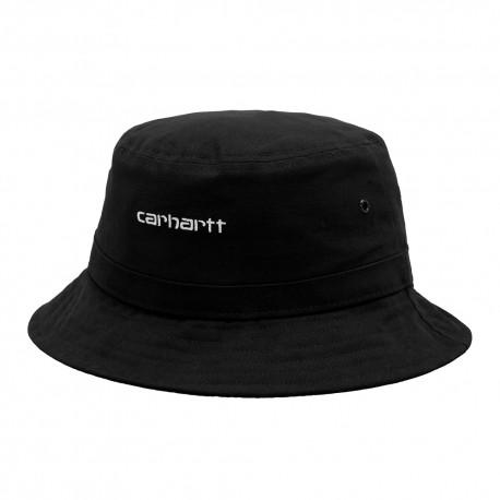 Gorro CARHARTT WIP Script Bucket Black