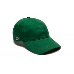 Gorra LACOSTE a contraste Verde