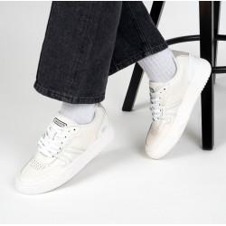 Zapatillas de Mujer LACOSTE rene L001 Piel Blancas
