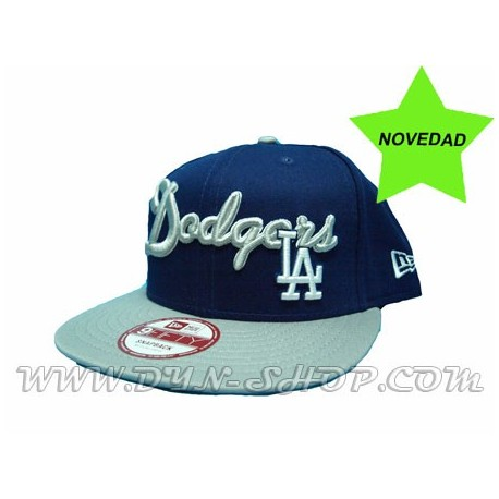 Gorra NEW ERA Los Angeles Dodgers Grey/Blue