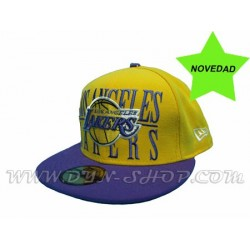 Gorras NEW ERA de Los Lakers