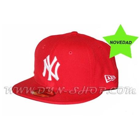 f9adc7a207aa3 Gorra Plana NEW ERA Yankees Roja