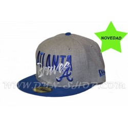 Gorras Visera Plana NEW ERA Atlanta