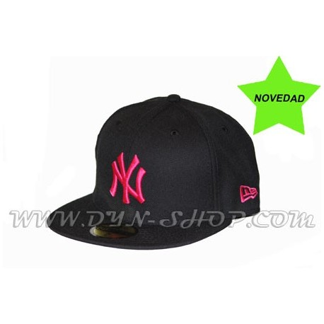 Gorras de NEW ERA New York Blk/Fus
