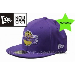 Gorras NEW ERA Lakers Morada