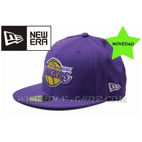 Gorras NEW ERA Lakers Morada