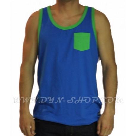 Camiseta de tirantes Marca DC SHOES Contra Azul