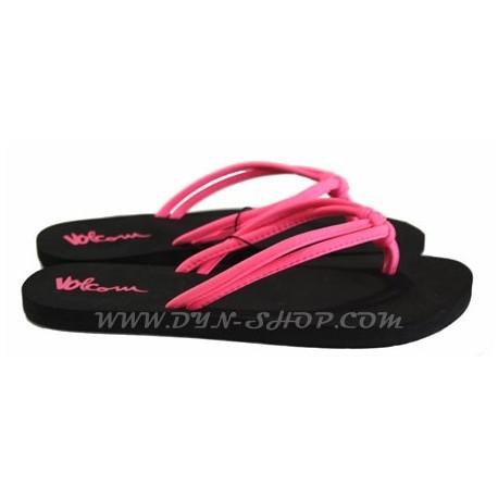 Chanclas de Moda VOLCOM Forever Neon Pink