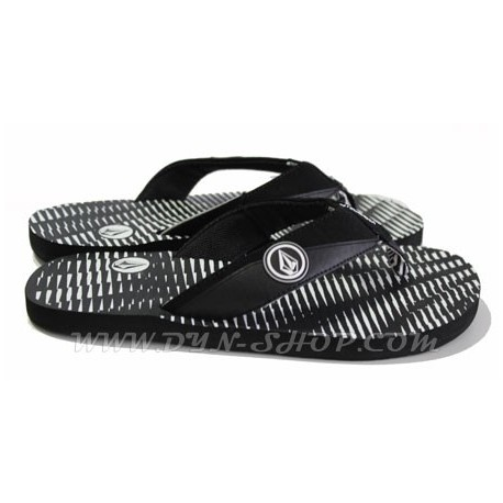 Chanclas Marca VOLCOM Vocation Black/wht