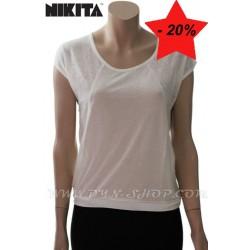 Camiseta de Mujer NIKITA Droitop Wht