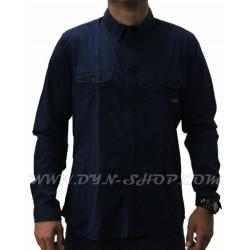 Camisa Moda Casual hombre OUTFITTERS Mason Azul