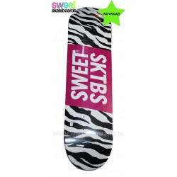 Tablas Skate SWEET Cebra 8,125