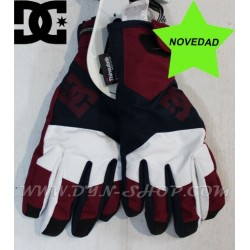 Guantes Snow DC SHOES Navy/burgundy