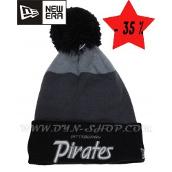 Gorros de lana NEW ERA Pirates Blk